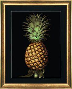 G&C Gallery Pineapple Bild #Tropical #Wohnen #Pineapple #Ananas #Wandbild…