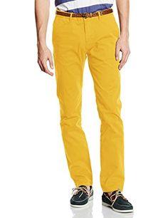 Scotch & Soda Men's Slim Fit Chino Pant with Belt