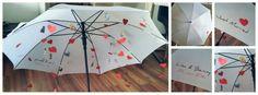 Hochzeitsgeschenk Regenschirm - Geldregen | Wedding present umbrella - money rain
