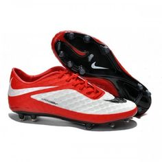 official photos 5096a fc2ad cheap outlet online,Nike Hypervenom Phantom FG Soccer Cleats - White Red  best for your choose!
