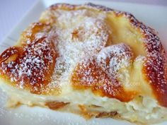 Placinta dobrogeana cu branza dulce Sweets Recipes, Cooking Recipes, French Toast, Deserts, Goodies, Baking, Breakfast, Food, Sweets