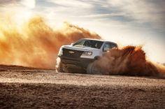En SEMA Chevrolet presentó dos nuevas camionetas Chevrolet Colorado ZR2: el concepto AEV y la Race Development Truck