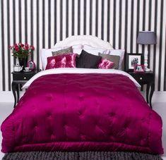 Dormitorios en Rojo y Negro | Decoración Retro
