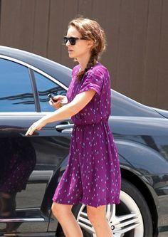 Natalie Portman in Westward  Leaning