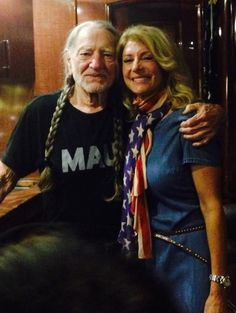 Willie Nelson & Wendy Davis. Total awesomeness!!!! Vote WENDY DAVIS!!!! Turn Texas Blue!!!!