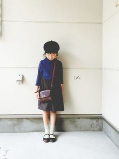 tops…UNIQLO・・・ bottom…handmade・・・ bag…父handmade・・・ shoes…ZARA