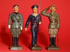 Lineol 3 Figuren im 7,5 cm Maßstab | eBay