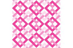 QUILT BLOCK Pattern Chained Boxes 12 block by LCsCraftHouse