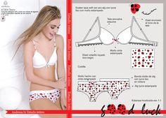 Estudio Intimo: Trabajos Diy Bra, Maisie Williams, How To Make Diy, Bra And Panty Sets, Designer Lingerie, T Shirt Bra, Fashion Sketches, Diy Clothes, Underwear