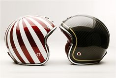 The one on the right matches my 2007 Ducati Sport Classic LE, thus, I had to have it.  The one on the left is just...