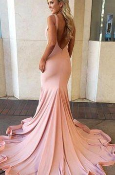 Long Prom Dresses, Pink Prom Dresses, Prom Dresses Long, Prom Long Dresses, Long Pink dresses, Pink Long dresses, Sleeveless Prom Dresses, Ruffles Prom Dresses, Sweep train Prom Dresses