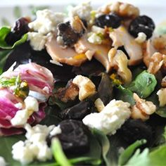 """California Cherry and Walnut Salad 