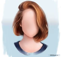 Картинки по запросу как рисовать волосы