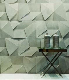 'Scaleno', wall surface product : Designed by Castelatto.