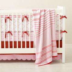 Pink In the Mix Crib Bedding