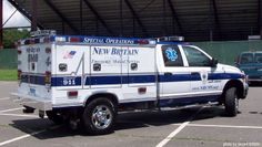 Visit our website for more details on work trucks. It is an exceptional place to get more information. Fire Dept, Fire Department, American Ambulance, 4x4, Radios, Old Police Cars, Fire Equipment, Rescue Vehicles, Emergency Response