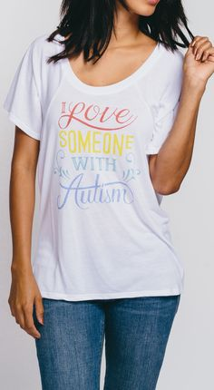 Do you love someone with autism? Show your support & wear it proudly <3 New Autism Awareness apparel for women, men & kids is now available at Sevenly!
