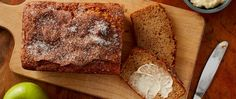 A simple and delicious way to capture the flavors of fall in a quick bread, topped with just the right amount of cinnamon-sugar crunch.