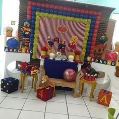 Hoje a festa é dupla, um grande circo para os irmãos Marcelo e Fernanda, filhos da Telma Janchevis! Obrigada mamãe pela confiança! #circo #festadupla #ratchimbum #novaodessa