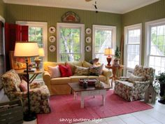 French country! These r the colors I have always leaned towards in my living area.
