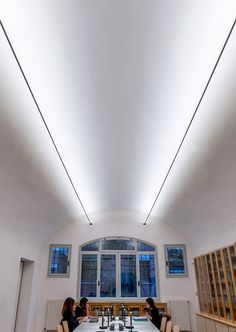 Visit the post for more. Library Lighting, Home Lighting Design, Facade Lighting, Ceiling Light Design, Dining Lighting, Office Lighting, Interior Lighting, Ceiling Lights, Linear Pendant Lighting