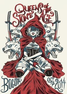 Gig poster: QUEENS OF THE STONE AGE