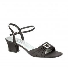 SHALA-242 Women Low-heel Sandals - Black