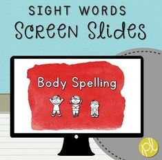 """These are slides that can be displayed for whole or small group phonics practice! Included are 50 PowerPoint presentation slides featuring sight word """"tricky words"""" aligned with the CKLA Skills curriculum for kindergarten and first grade. This set of Screen Slides is also part of my money-saving bundle: Unlimited Screen Slides Literacy Tasks!"""