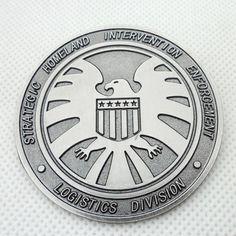 The Avengers Agent's of SHIELD Badge || eBay