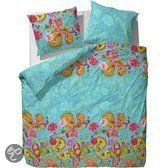 COVERS & CO Dekbedovertrekset Paisley for Real - 200x220+2/60x70 - Turquoise