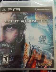 Lost Planet 3  (Sony Playstation 3, 2013) sealed with Brady Games strategy guide