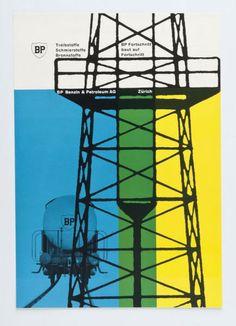 Werbeblatt für Benzin BP Benzin & Petroleum AG Zürich (Originaltitel) 1955