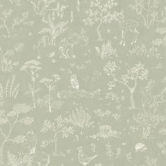 Hollie by Sandberg - Green - Wallpaper : Wallpaper Direct Wallpaper Series, Wallpaper Direct, Nursery Wallpaper, Green Wallpaper, Kids Wallpaper, Wallpaper Online, Pattern Wallpaper, Foyer Wallpaper, Beautiful Wallpaper