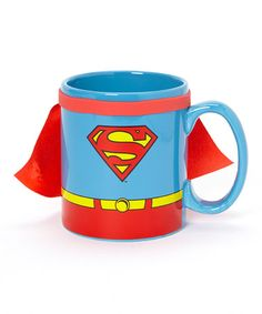 Take a look at this Caped Superman Coffee Mug by Superman