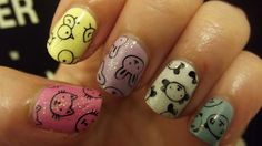Konad S10, Skittle Nails, Little Animals