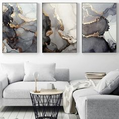 Watercolor Canvas, Abstract Canvas, Canvas Wall Art, Wall Art Prints, Canvas Prints, Marble Wall, Marble Print, Gold Marble, Black Marble
