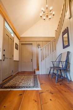 Foyer Early New England Homes | Gallery More