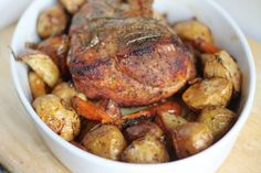 Incredible Boneless Pork Roast With Vegetables Recipe - Genius Kitchen
