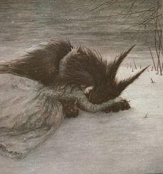 "Today on Myth & Moor: ""Beauty and the Beast"" The art above is by Mercer Mayer, Eleanor Vere Boyle, William Heath Robinson, Walter Crane, Edmund Dulac, and Angela Barrett. Via tumblr"
