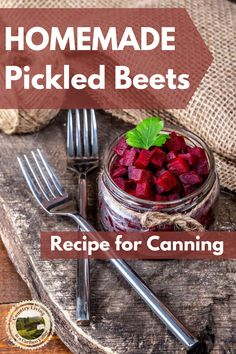 Here's an easy home made Pickled Beet recipe. Canning recipe included with step by step instructions to make homemade Pickled Beets. #beets #pickledbeets #recipe #pickledbeetsrecipe #canning #preserving #pickling