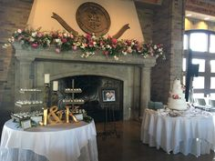 8.13.2016 | Jeff and Kalee Johnston Wedding | Wedding Cake by The Cakery | Groom's Desserts by Pie Bar | McKenzie Merket Alumni Center | Event Planning by Top Tier