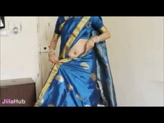 How To Wear South Indian Saree/2 States South Sari Wearing Tutorial - YouTube