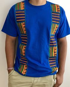 African fashion for men has come a long way. Today, we have a wide selection of amazing African clothing for men that are available in different designs, colors, styles, and fabrics. African American Fashion, African Print Fashion, Africa Fashion, African Fashion Dresses, African Shirts For Men, African Clothing For Men, African Attire, African Dress, African Wear Designs