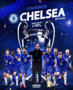 #chelsea 1-0 #manchestercity #championsleague final 2020-2021 #football Chelsea Champions, Chelsea Football, Manchester City, Champions League, Comic Books, Movie Posters, Film Poster, Cartoons, Comics