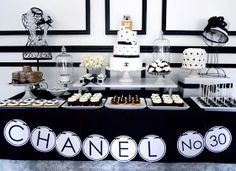 .Oh Sugar Events: Chanel Birthday Party