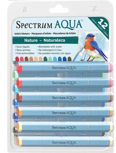 Spectrum Aqua Markers - Nature