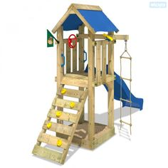 Enchant your children with a Wickey climbing frame for happy outdoor moments ☀ Slide ✓ Swing ✓ Sandpit ✓ warranty