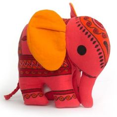 adorable indian elephant toy