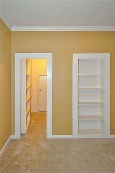 Hidden door to playroom idea