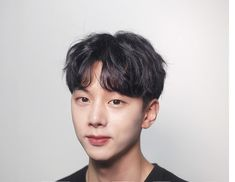 Korean Men Hairstyle, Hair Reference, Perm, Haircuts For Men, New Hair, Curly Hair Styles, Hair Cuts, Hair Beauty, Face